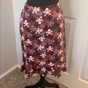Paper Doll Rockabilly Skirt - Size Large